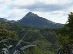 Sacred Mountain in Land of the Giants, Ecuador